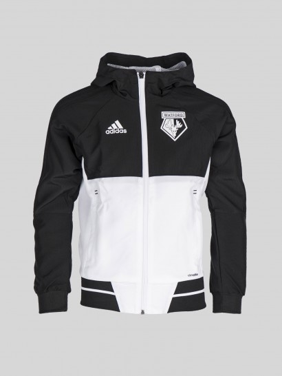 2017 JUNIOR TW BLACK HOODED JACKET
