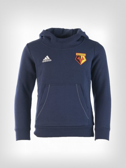ADIDAS JUNIOR ESSENTIAL HOODED SWEAT NAVY