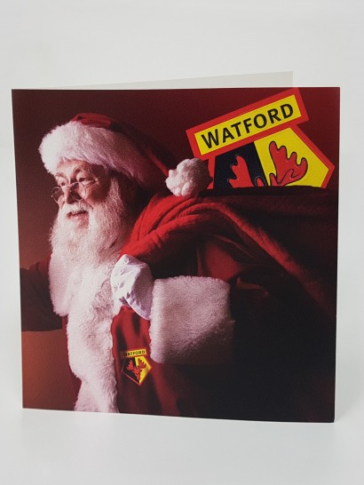 SANTA SACK CHRISTMAS CARD