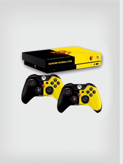 XBOX ONE - X CONSOLE AND 2 CONTROLLER SKINS