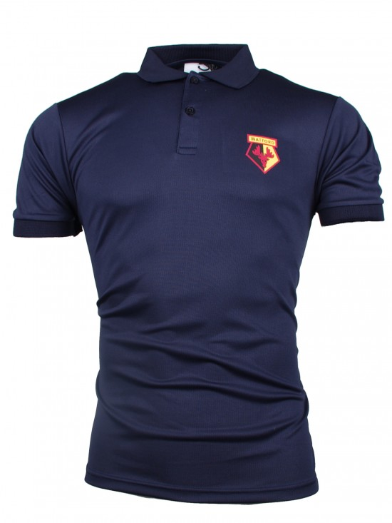 ADULT NAVY POLY POLO