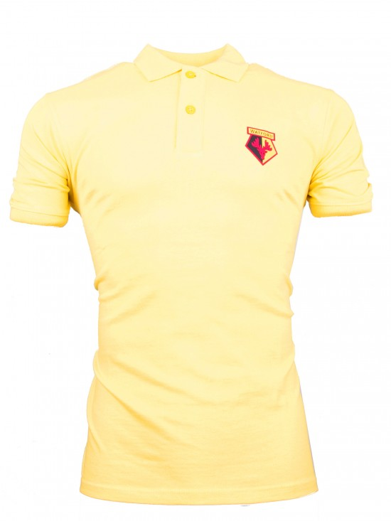 ADULT BASIC YELLOW POLO