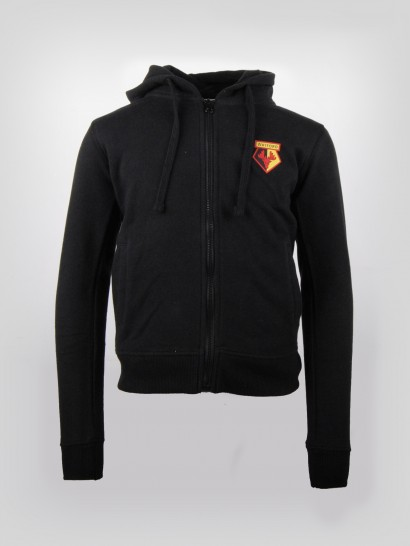 JUNIOR BASIC BLACK HOODY
