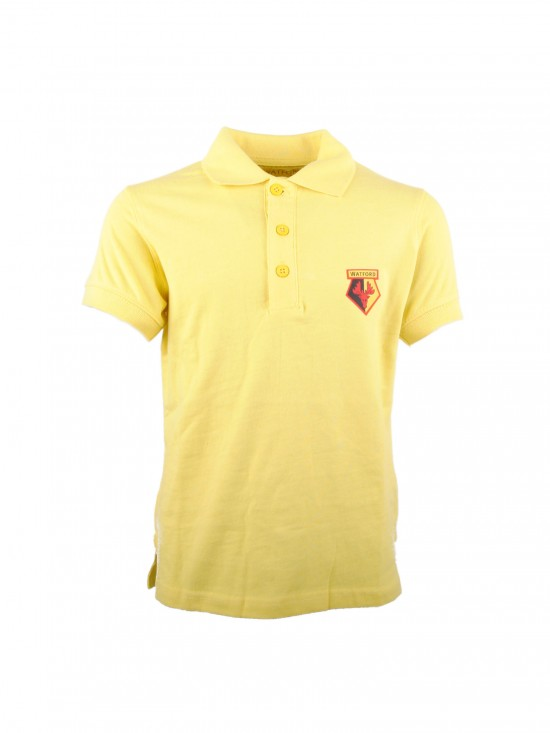 JUNIOR BASIC YELLOW POLO