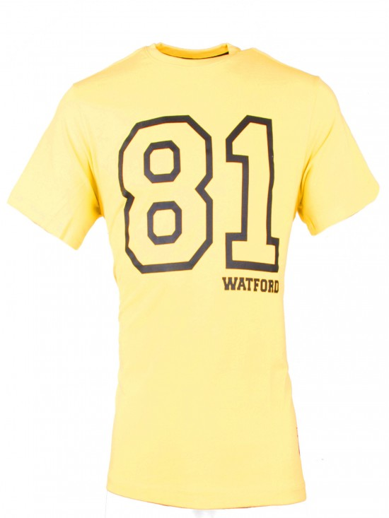 ADULT YELLOW 81 TEE