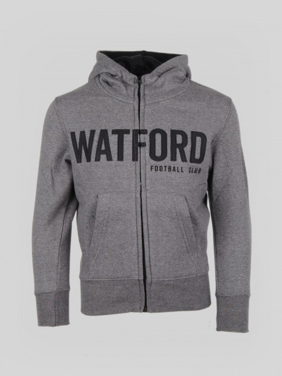 JUNIOR ANTHRACITE HOODY