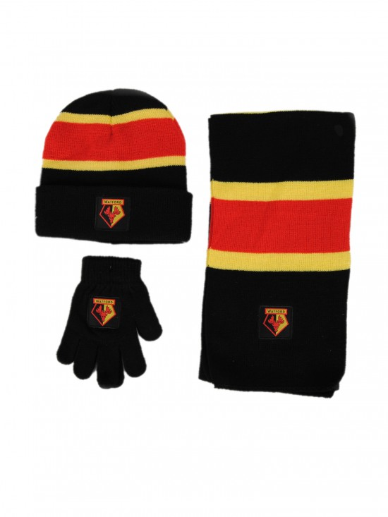 JUNIOR SCARF, HAT & GLOVES SET