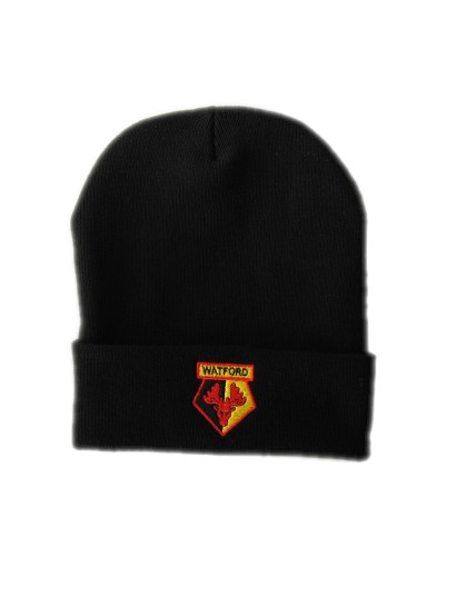 BRONX BLACK KNITTED HAT