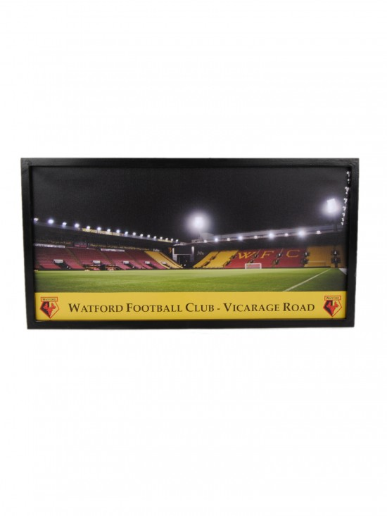 WOODEN FRAMED LED LIT STADIUM