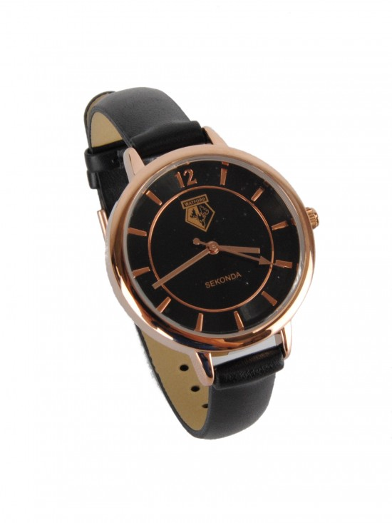 LADIES GOLD CREST WATCH