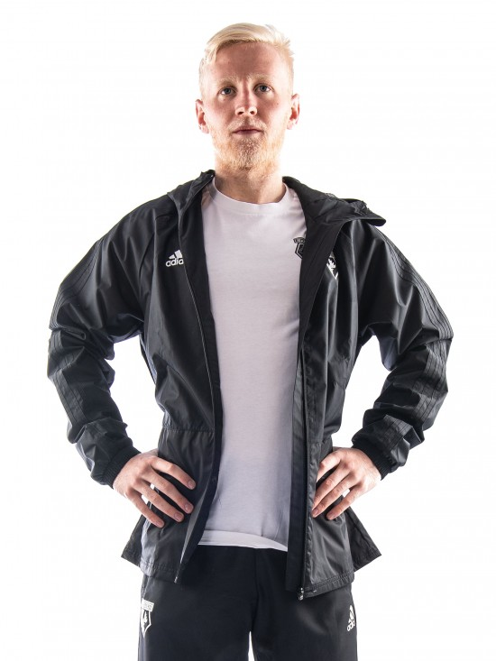 2018 ADULT TW BLACK RAIN JACKET