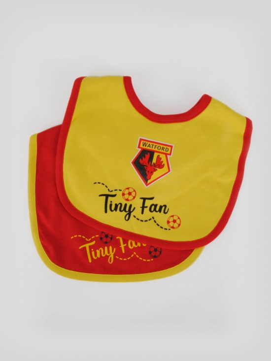 2 PACK TINY FAN BIB