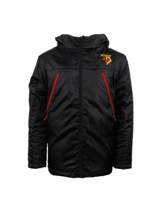 JUNIOR PADDED BLACK JACKET