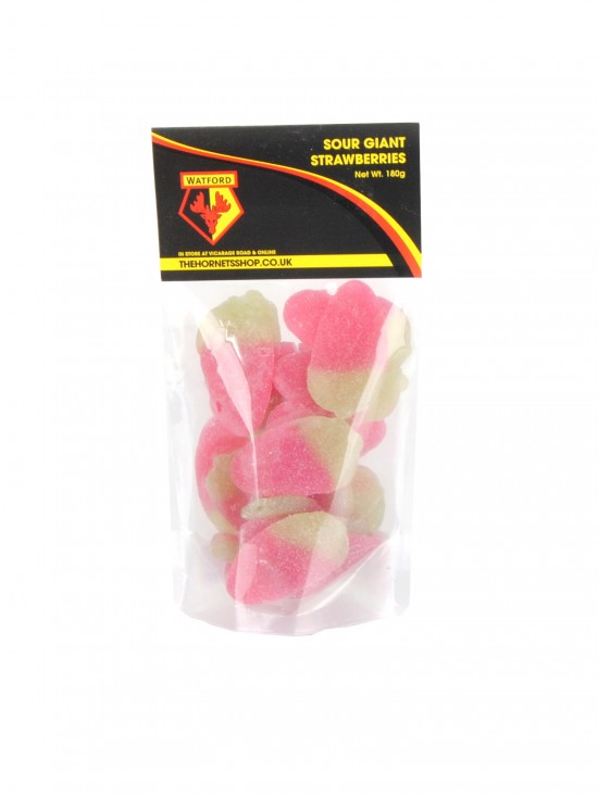 SOUR GIANT STRAWBERRIES SWEETS