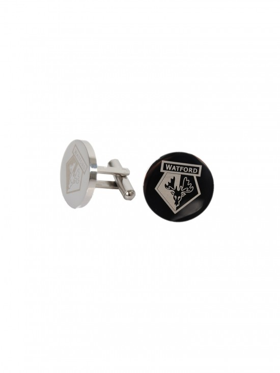 STAINLESS STEEL ROUND CUFFLINKS GIFT SET