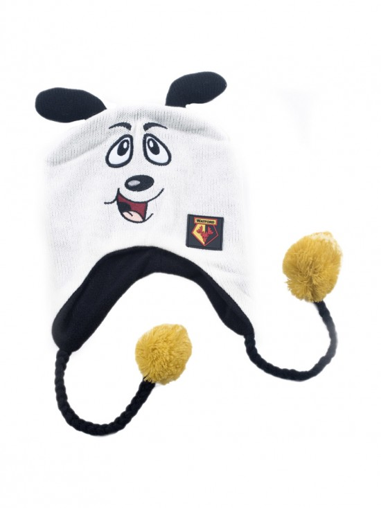 HARRY MASCOT HAT WHITE