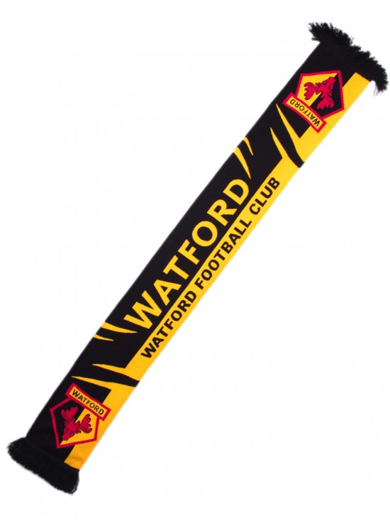 WATFORD FOOTBALL CLUB SCARF