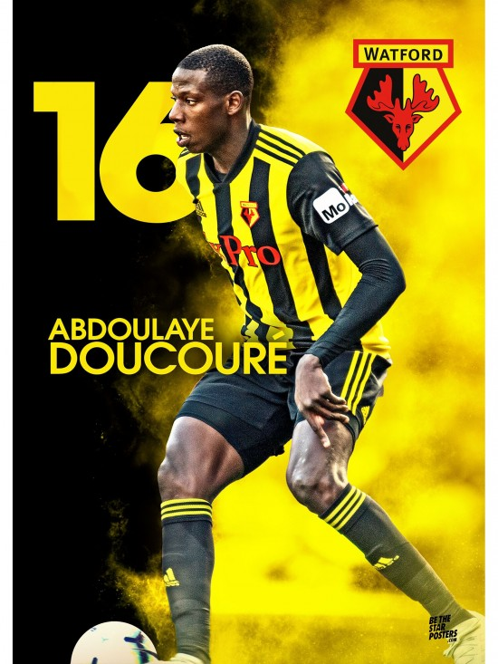 DOUCOURE POSTER