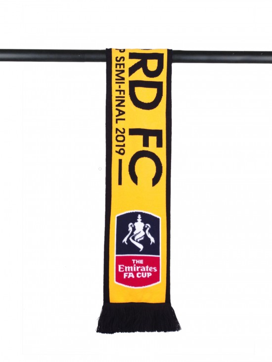 OFFICIAL FA CUP SEMI FINAL SCARF