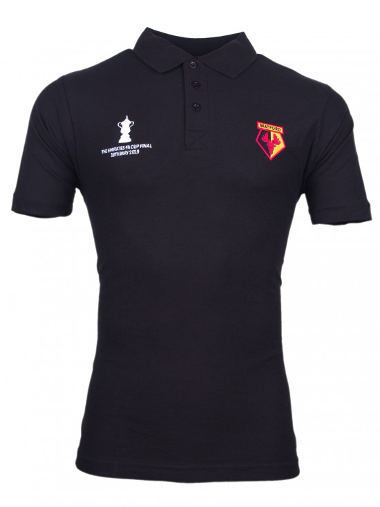 ADULT BLACK FA CUP FINAL POLO