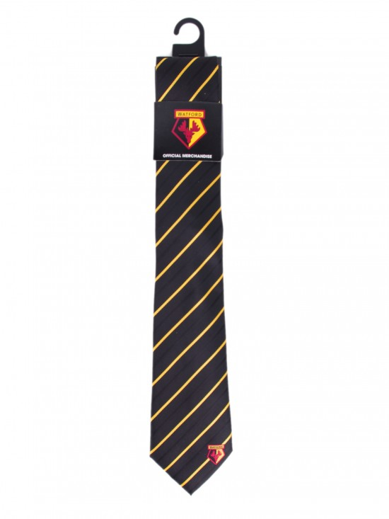 THIN YELLOW STRIPE TIE