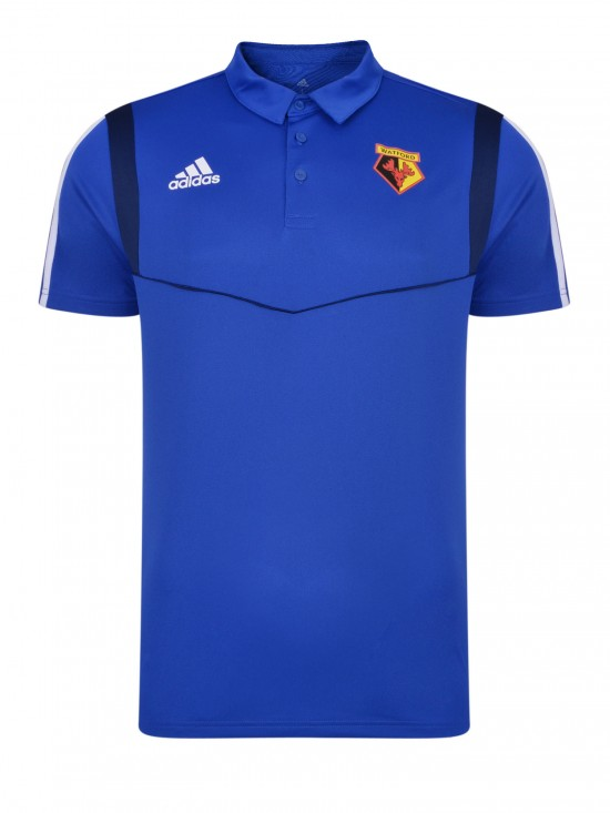 2019 ADULT BLUE POLY POLO