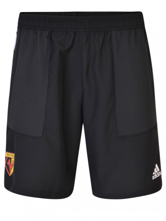 2019 ADULT BLACK WOVEN SHORT