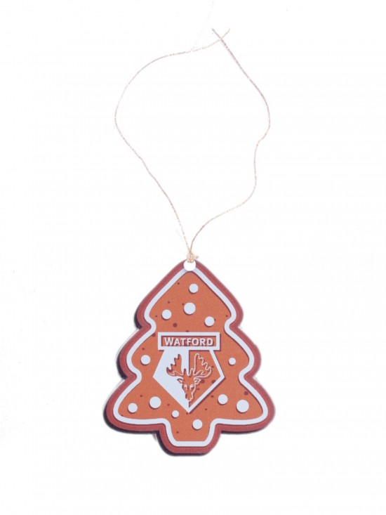 ACRYLIC GINGERBREAD TREE DECORATION