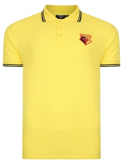 ADULT CORE TIPPED POLO YELLOW