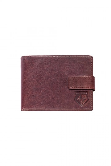 BRIDGE LEATHER ZIP WALLET