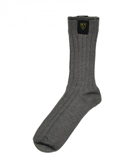 MENS CHARCOAL WINTER SOCKS