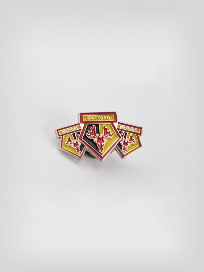 TRIPLE CREST PIN BADGE