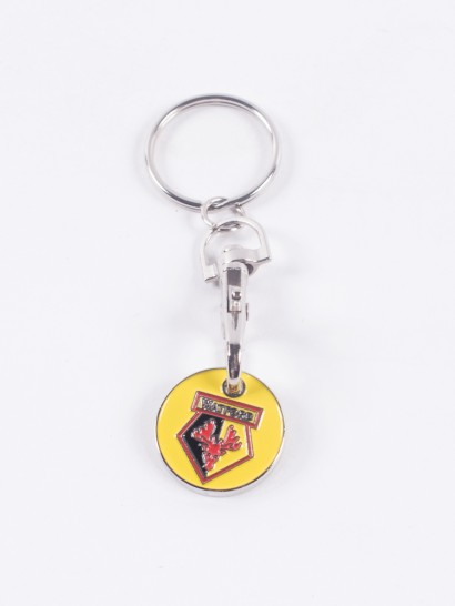 WFC TROLLEY COIN KEYRINGS