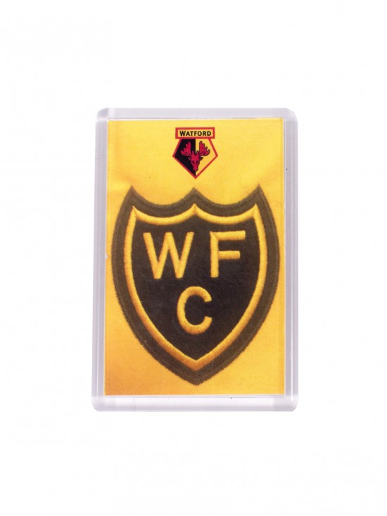 RETRO SHIELD CREST MAGNET