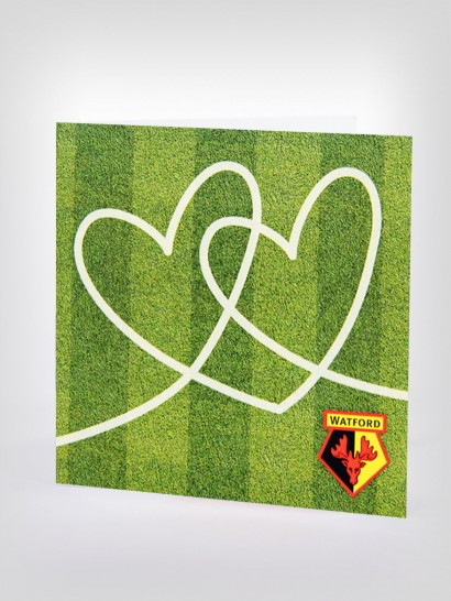TURF HEARTS CARD