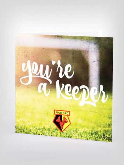 YOURE A KEEPER CARD