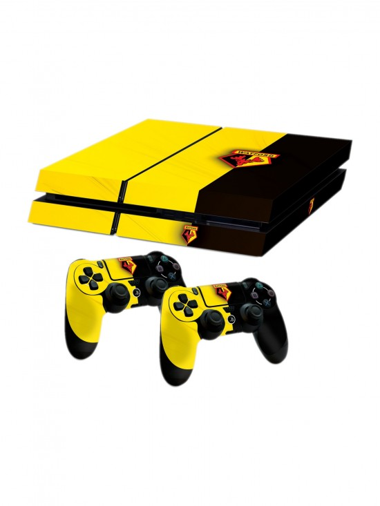 PS4 CONSOLE AND 2 CONTROLLER SKINS
