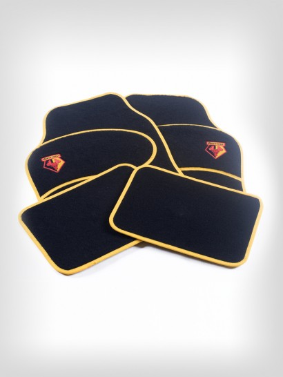TWIN HEEL CAR MAT SET