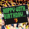HAPPY 40TH BIRTHDAY SCOREBOARD CARD