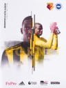 WATFORD V BRIGHTON AND HOVE ALBION PROGRAMME