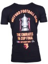 ADULTS FA CUP FINAL BLACK IMAGE TEE