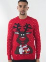 ADULT RUDOLPH CHRISTMAS JUMPER