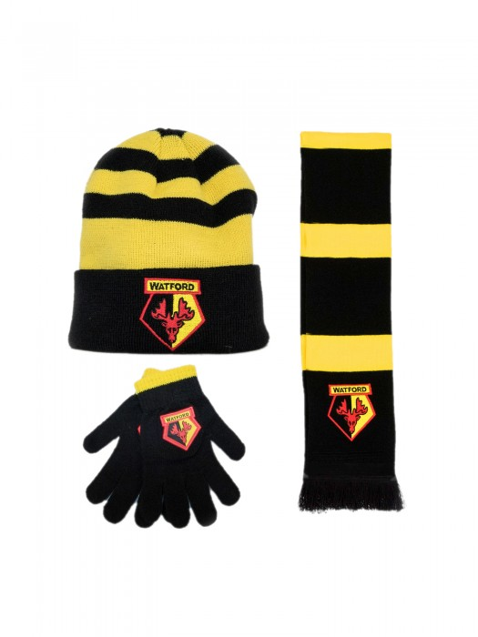 JUNIOR BEANIE, SCARF & GLOVE SET