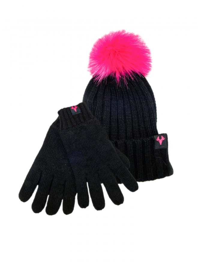 LADIES HAT AND GLOVE SET