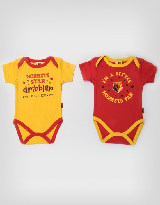 2 PACK HORNETS STAR BODYSUIT