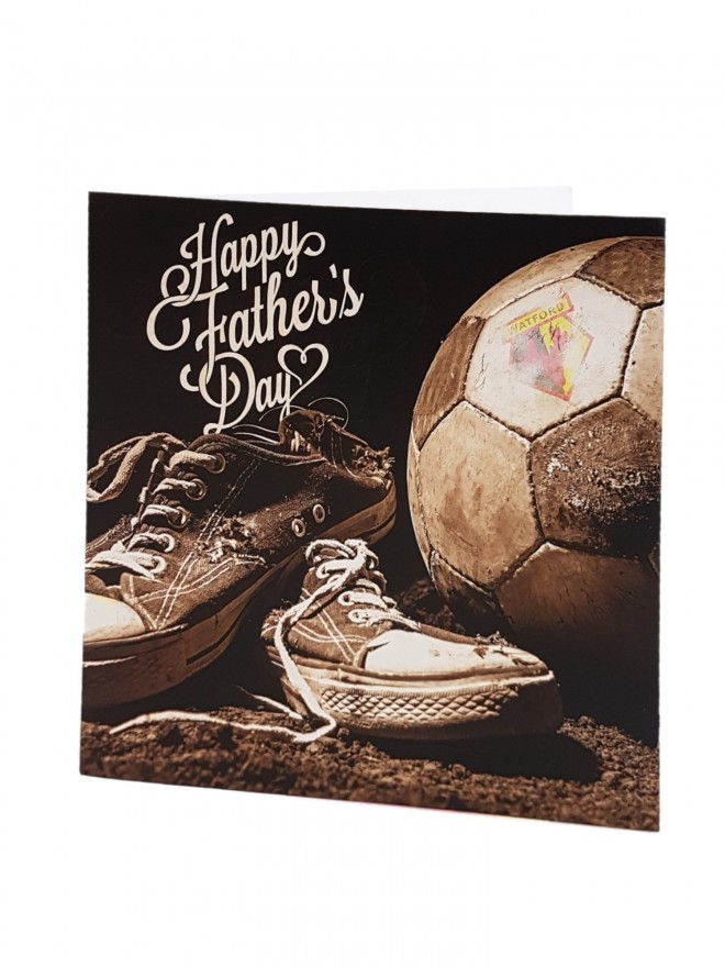 WELL LOVED SNEAKERS FATHERS DAY CARD