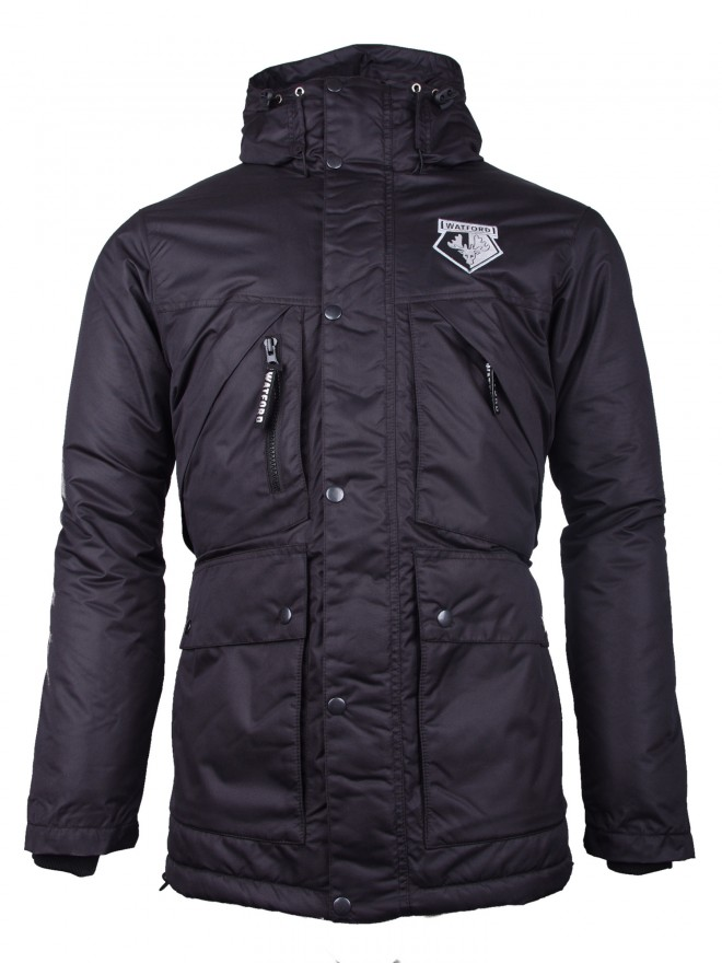 ADULT BLACK PARKA JACKET