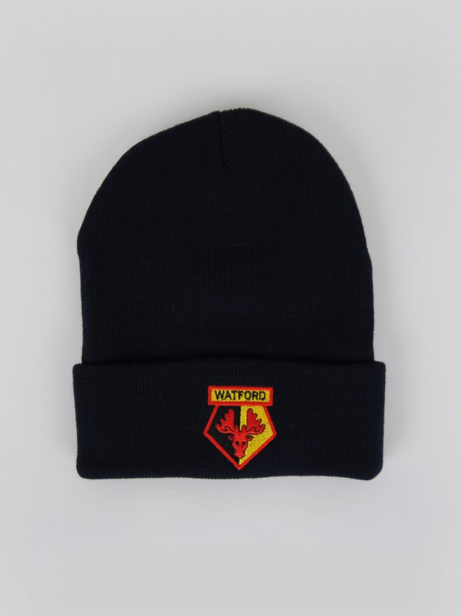 BRONX NAVY KNITTED HAT