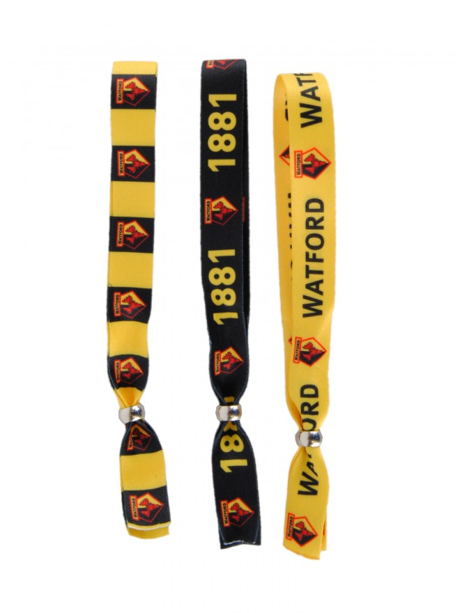 3 PACK FESTIVAL WRISTBANDS