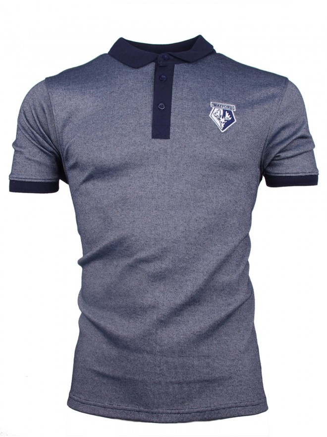 ADULT NAVY EAGLE CREST POLO